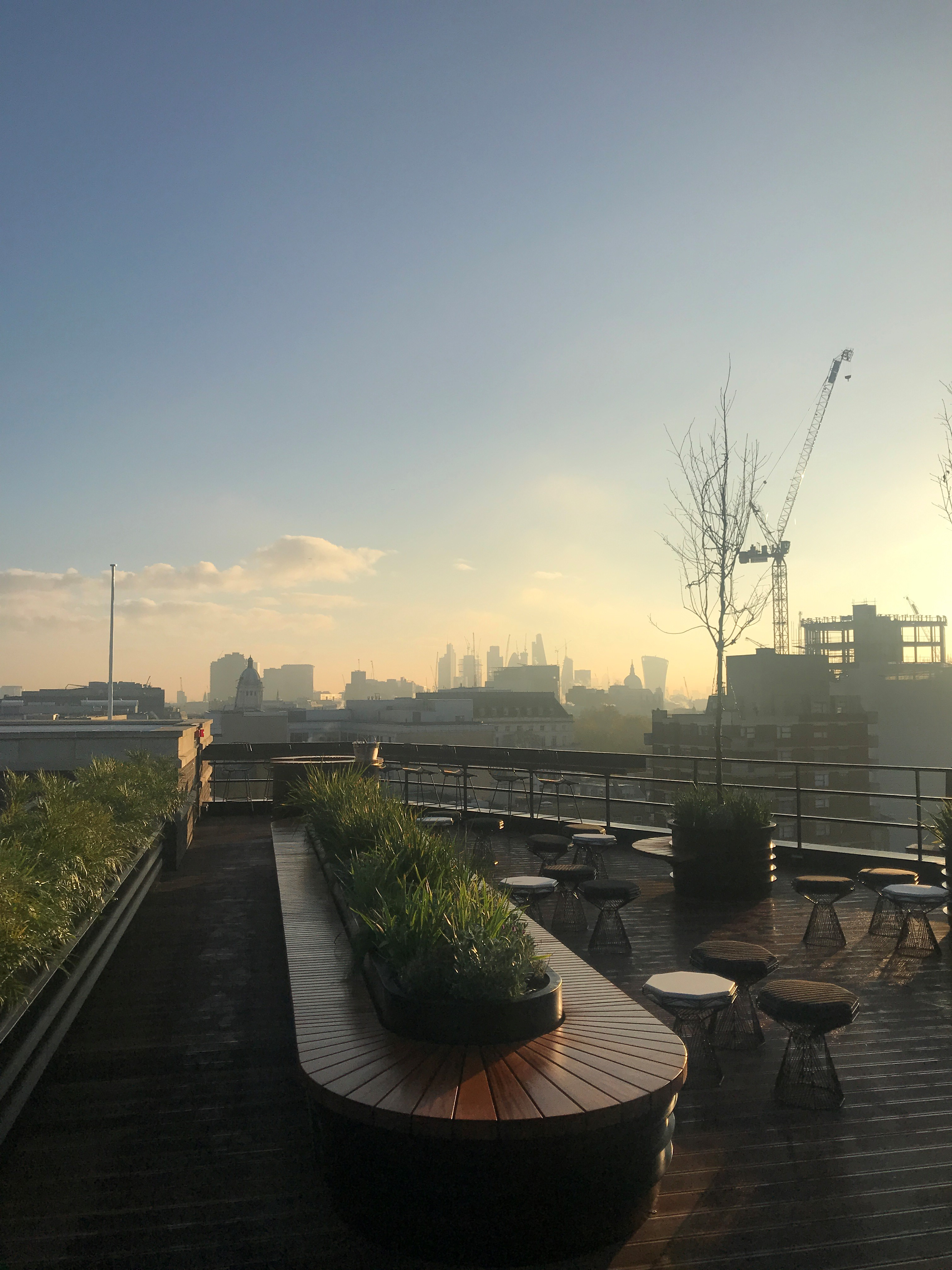 1 New Oxford Street, roof terrace