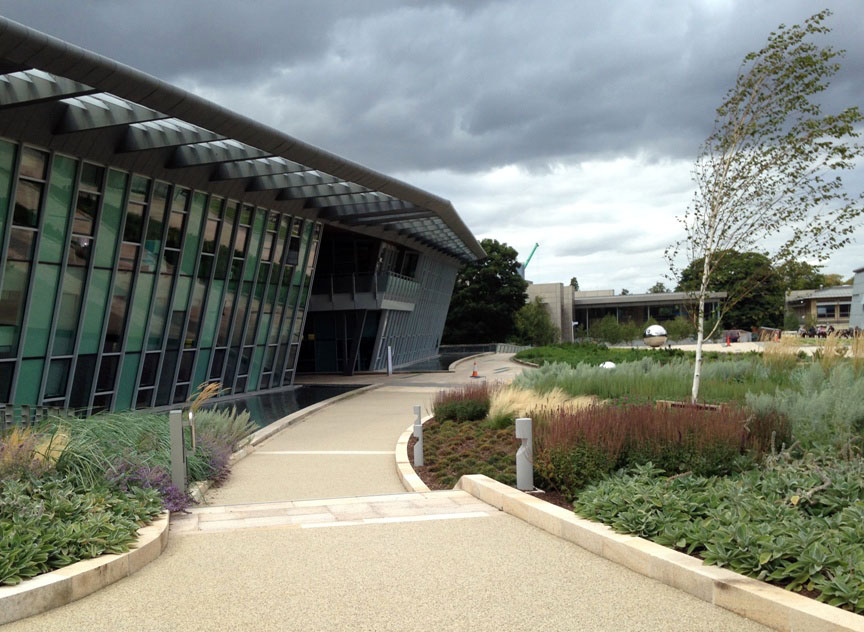 EBi building, Wellcome Genome Campus