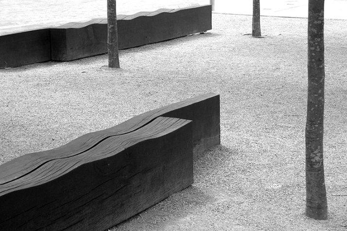 Benches in Cavalry Square