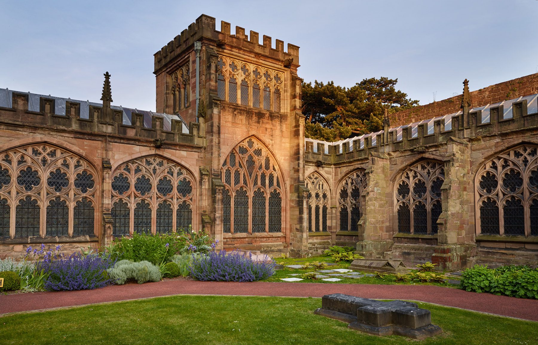 Lady Arbour Chapel garden, Hereford Cathedral