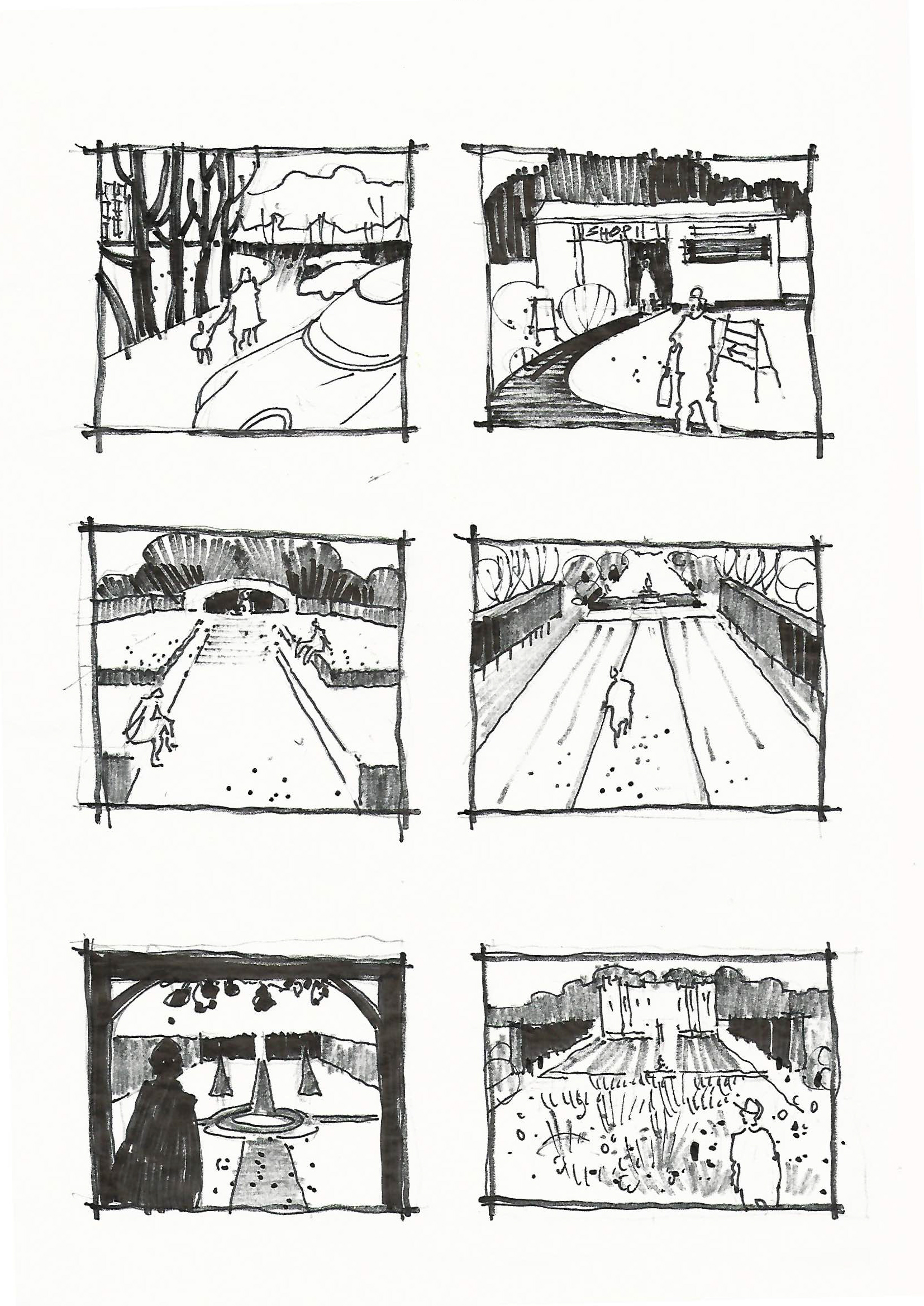Storyboard, part of a successful project bid