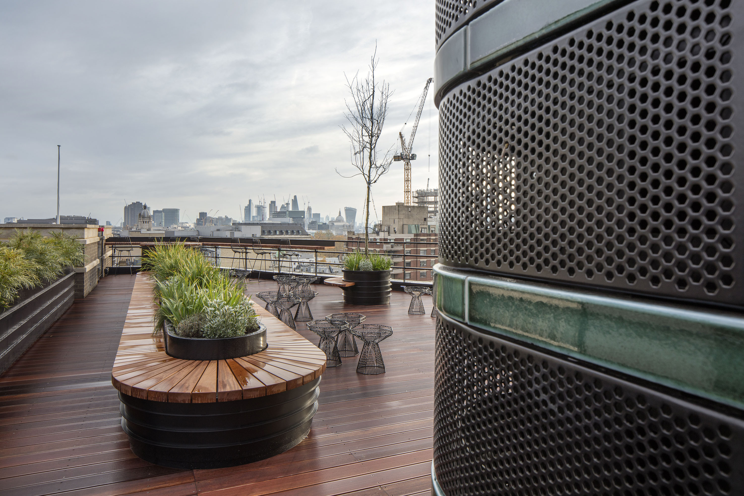 1 New Oxford St roof terrace